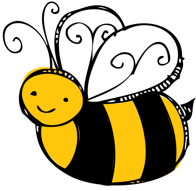 Bees clipart clear background Transparent bee clipart Queen bee