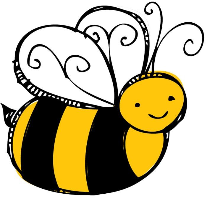 Bees clipart clear background With clipart background with transparent