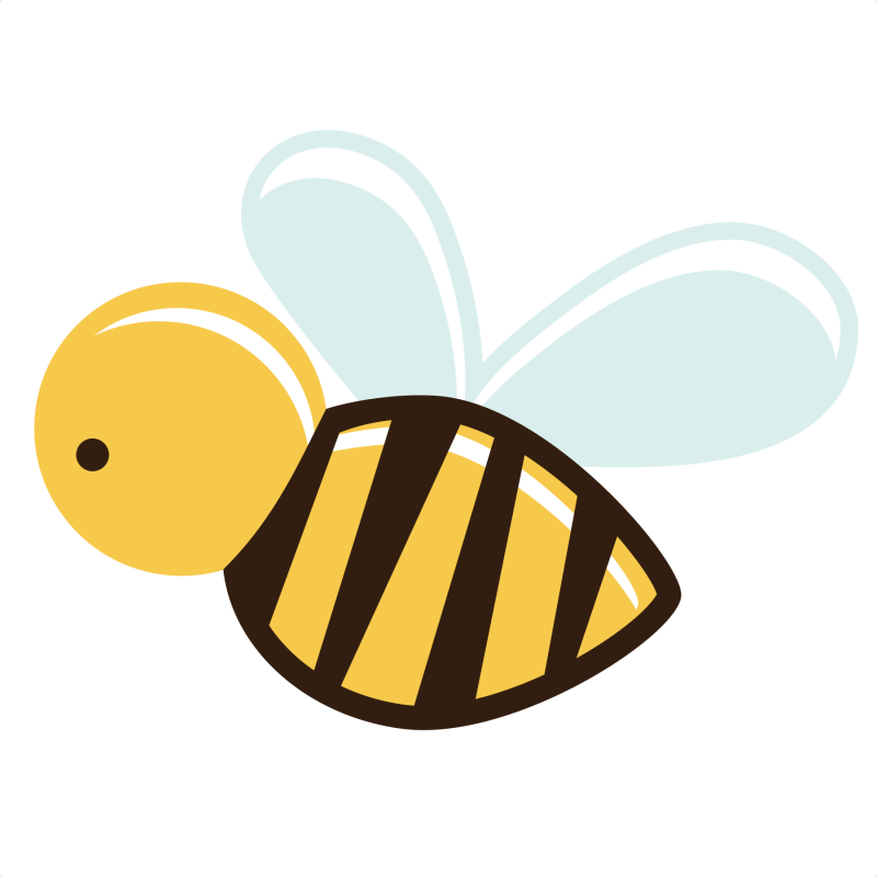 Bees clipart clear background Transparent PNGMart Bee Download PNG