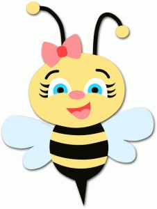 Bee Hive clipart animated baby Female Clipart  Bumble Bee