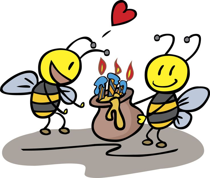 Bees clipart happy birthday Google birthday birthday Pinterest zoeken