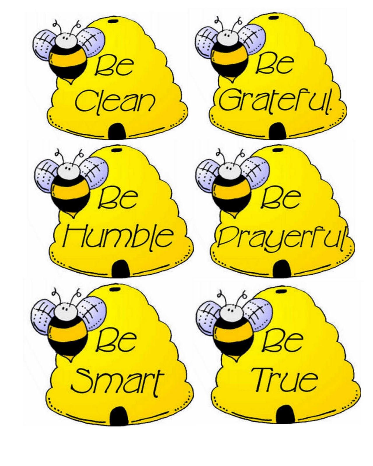 Bee clipart lds September that Life's Embracing put
