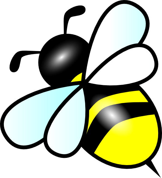 Bees clipart lebah Clker image royalty Bee as: