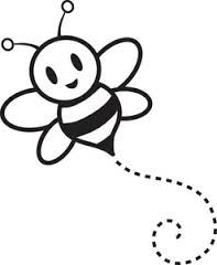 Bee clipart outline Art bumble Google Search Best