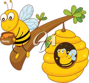 Bee clipart pants Bee Art Art Honey Clip