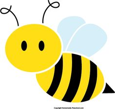 Bee clipart path Image: Honey around flying Clipart