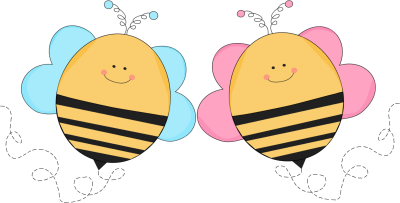 Bee clipart pink Bees Free Free Friends Download