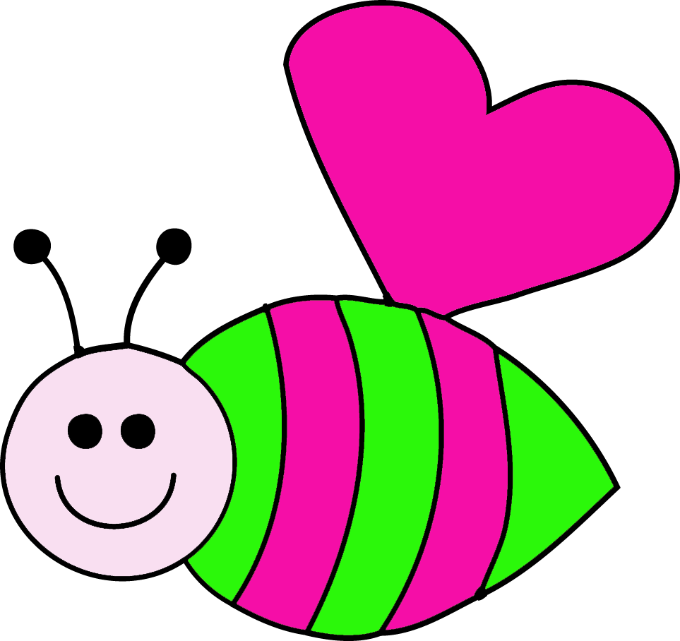 Bee clipart pink Clipart clip bee Fans #36