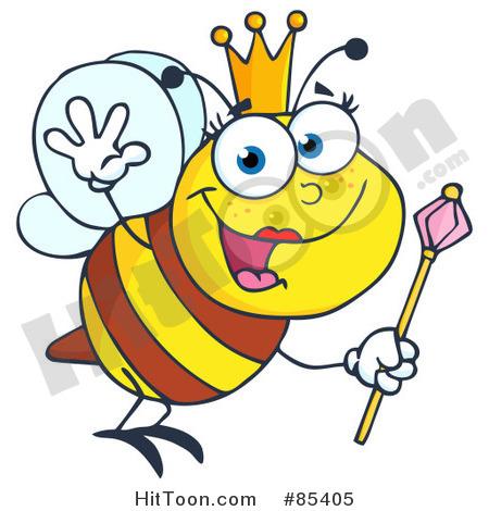 Bee clipart queen bee Bee queen clipart clipart Free
