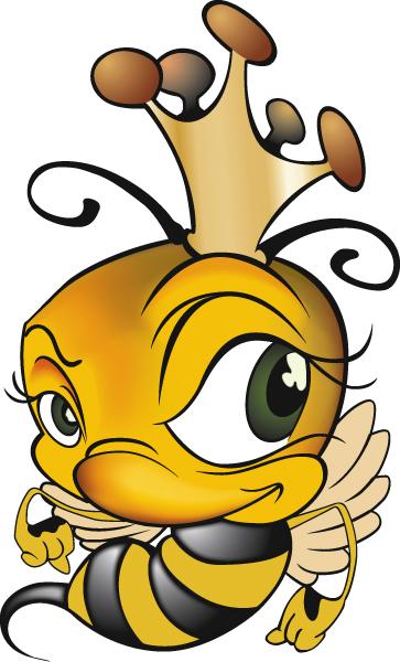 Bee clipart queen bee Bernard Design Queen Bee