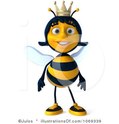 Bee clipart queen bee Panda Bee  Queen Clipart