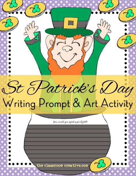 Bee clipart st patrick's day Bulletin Textured St Patrick's Leprechaun
