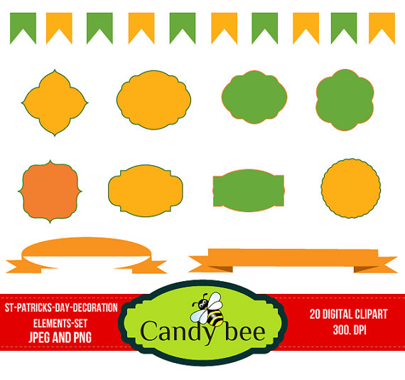 Bee clipart st patrick's day Clipart  80% Ribbons &