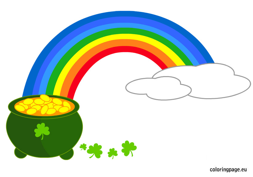 Bee clipart st patrick's day Of Share: Coloring Patrick's Day