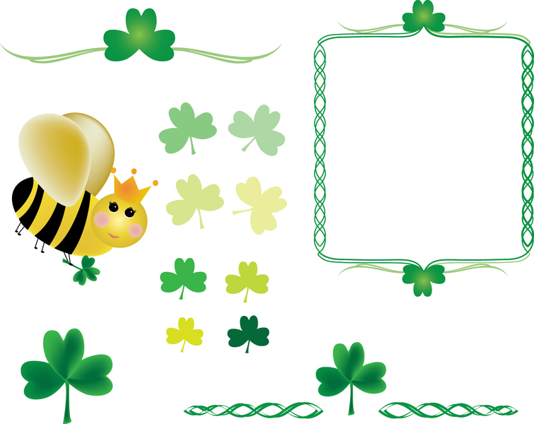 Bees clipart st patrick's day Clip and Bee arts com