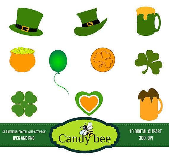 Bee clipart st patrick's day St Banners Happy Banners /