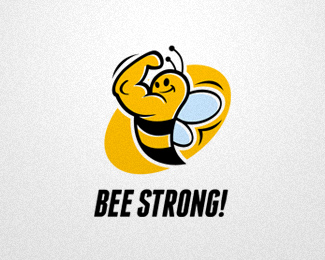 Bee clipart strong Inspiration STRONG Identity & BEE