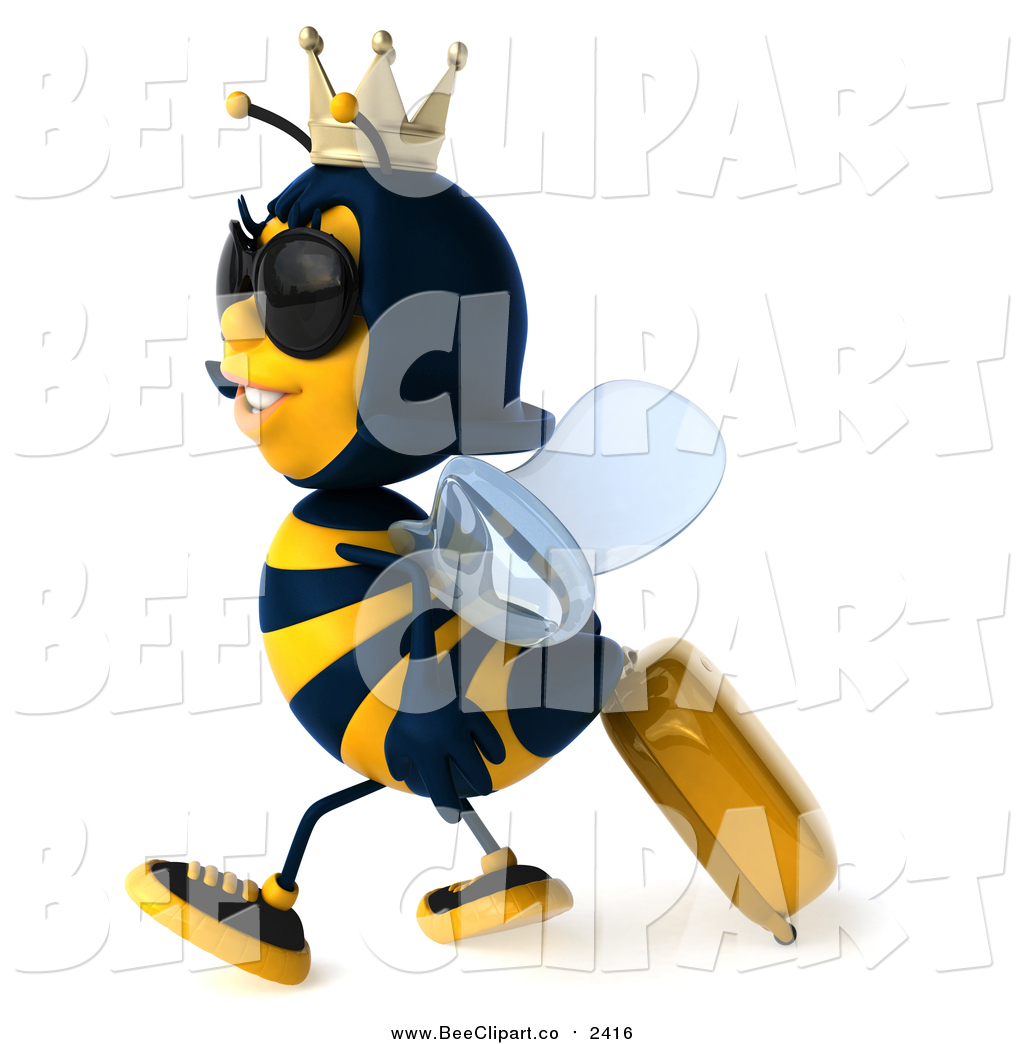 Bee clipart sunglass Clip a Luggage Sunglasses and