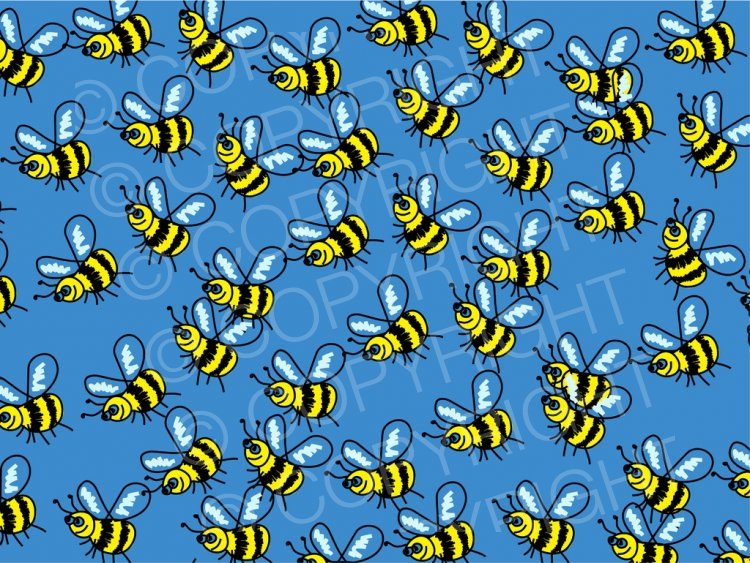 Bugs clipart swarm Bees of Art Insect –
