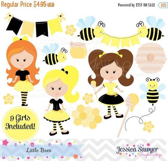 Bees clipart sweet honey 80% INSTANT Clipart Honey Bee