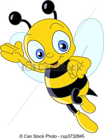 Bees clipart vector  EPS Clipart Vectorby Images
