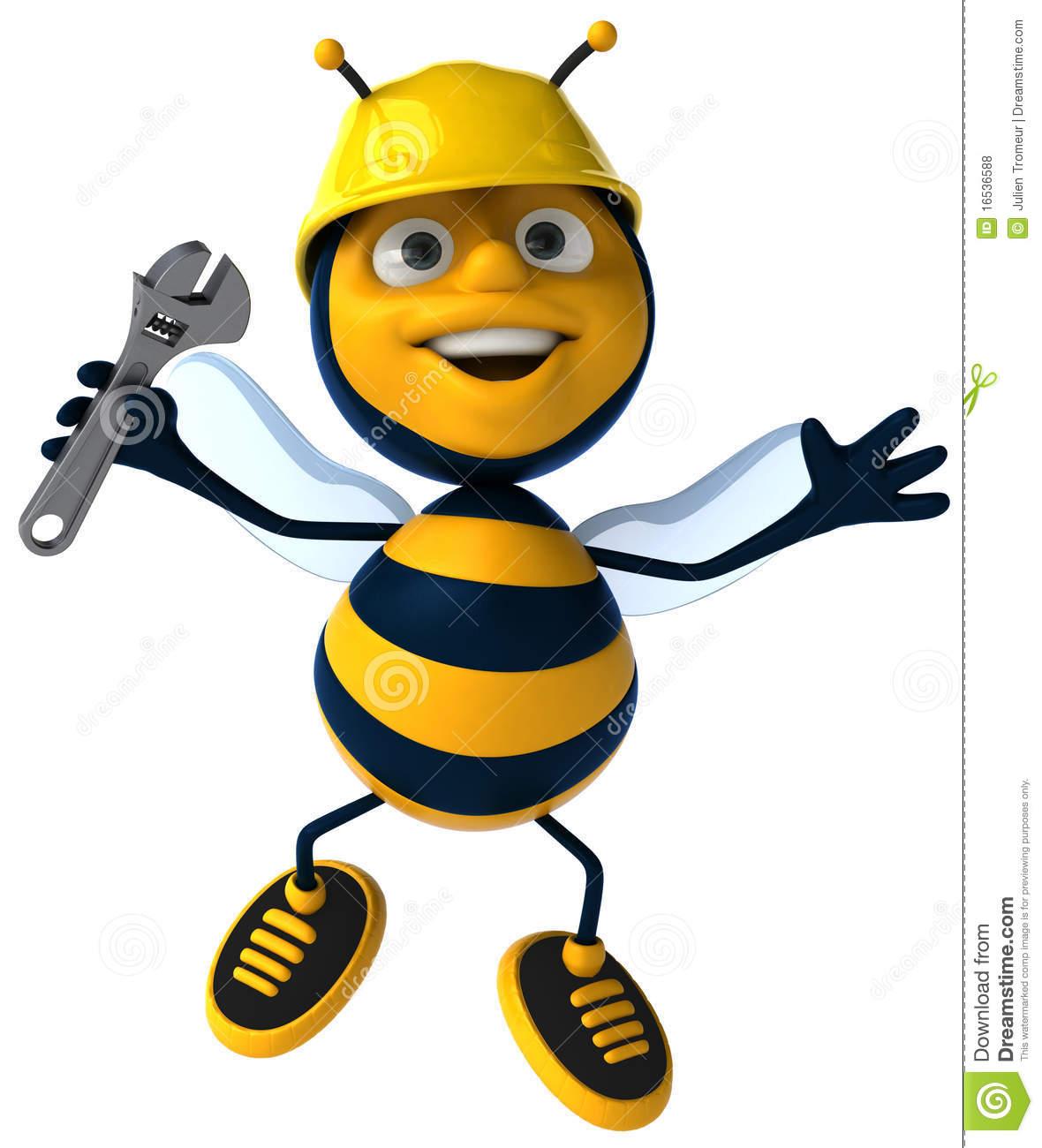 Bees clipart worker bee Working working bee bee Clipart