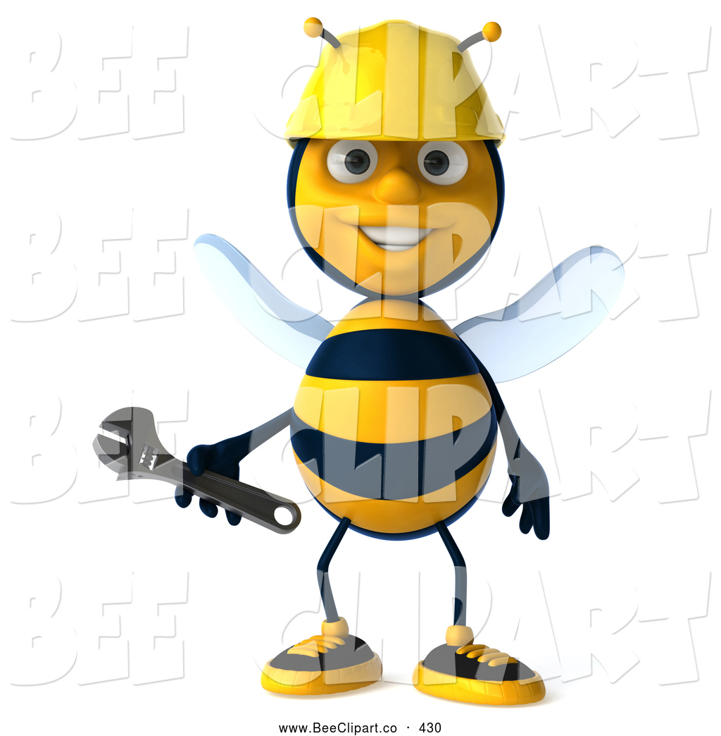 Bees clipart worker bee A Wrench by Friendly a
