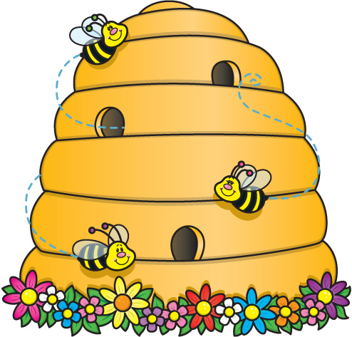 Bee Hive clipart Panda Clip Hive Art Clipart