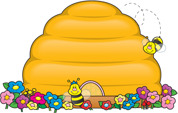 Bee Hive clipart Beehive a Be cute beehive