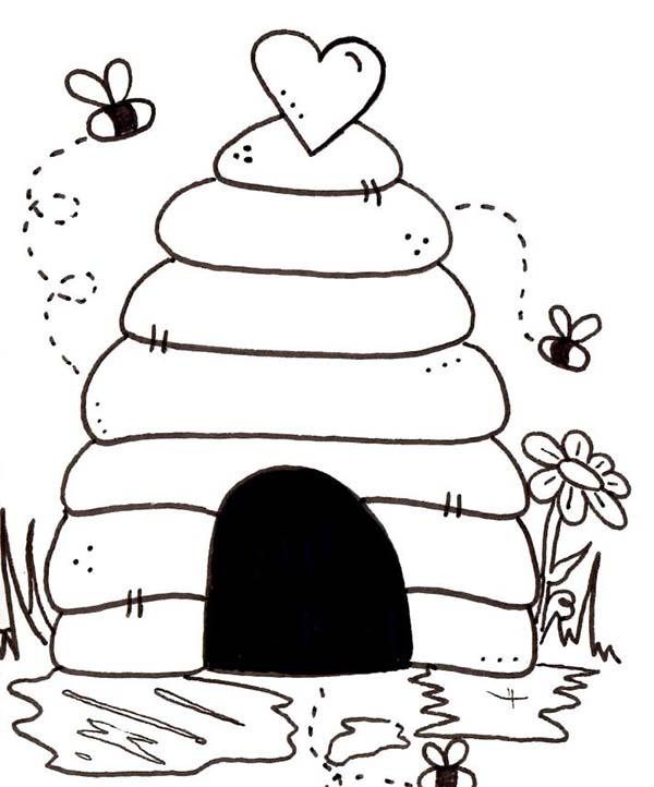 Bee Hive clipart bee home Of of Page Bees NetArt
