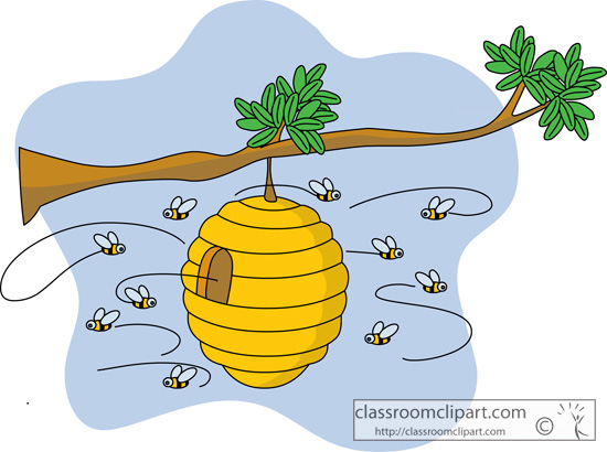 Bee Hive clipart bee home : Metaphor Brothers com Amigo