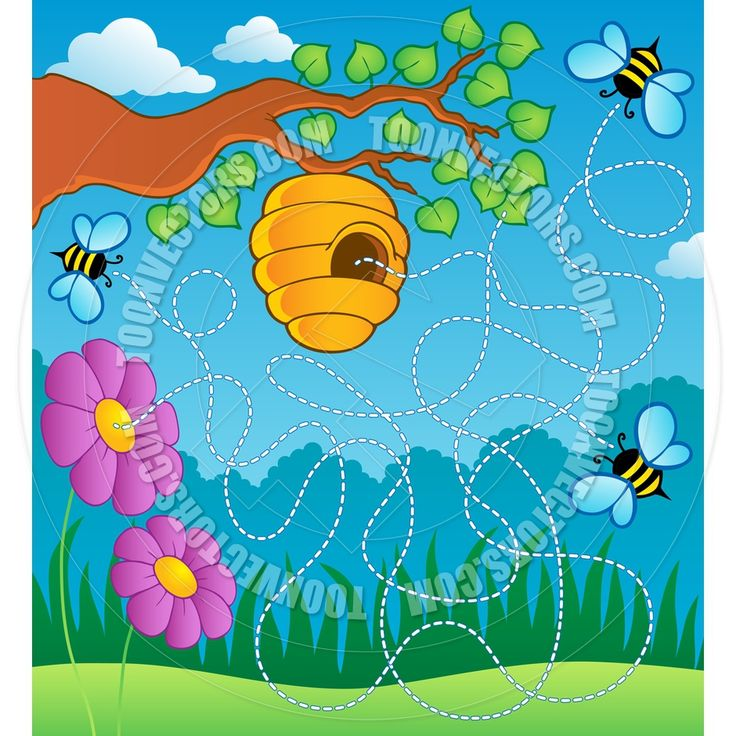 Bee Hive clipart comic Hive Toon images Clip Birthdays