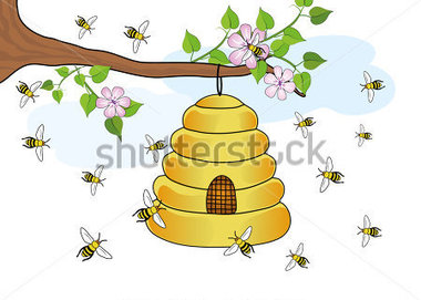 Bee Hive clipart flying A photo#11 Beehive Clipart A