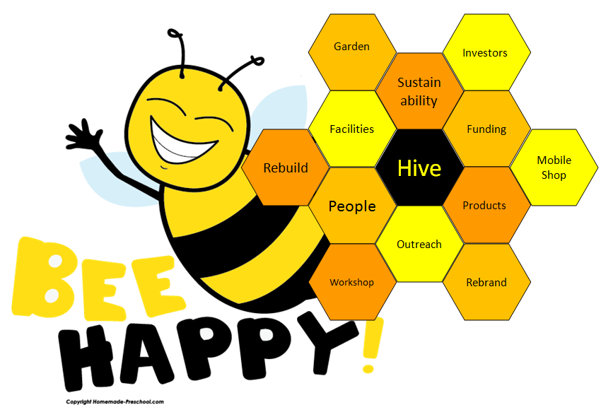 Bee Hive clipart happy bee On Clip Images Free Bee