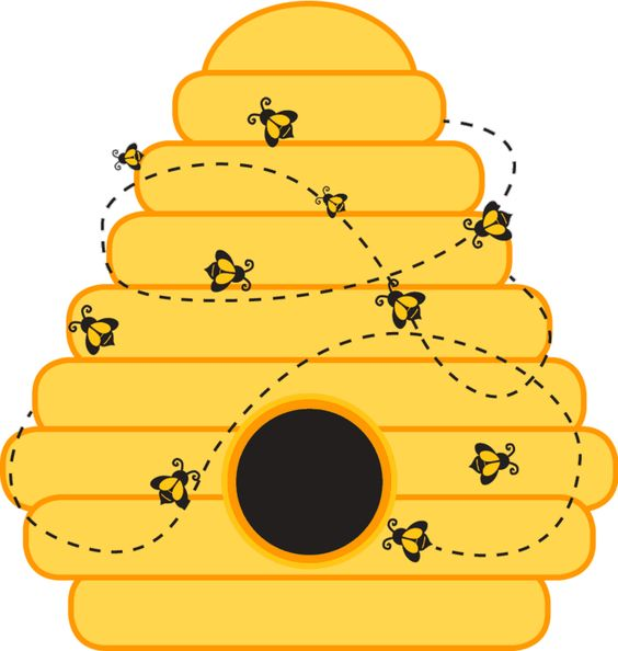 Bee Hive clipart printable Card Bee Beehive Beehive Hive