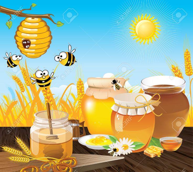Bee Hive clipart singing bee Met Op Honing Vaartuig images