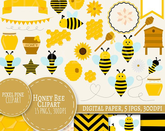 Bee Hive clipart spring Best clipart commercial Bee use