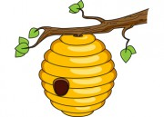 Bee Hive clipart tree clip art In Clipart tree Tree clipart
