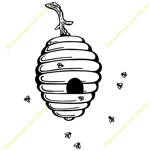 Bee Hive clipart tree clip art Hive clipart collection Party theme