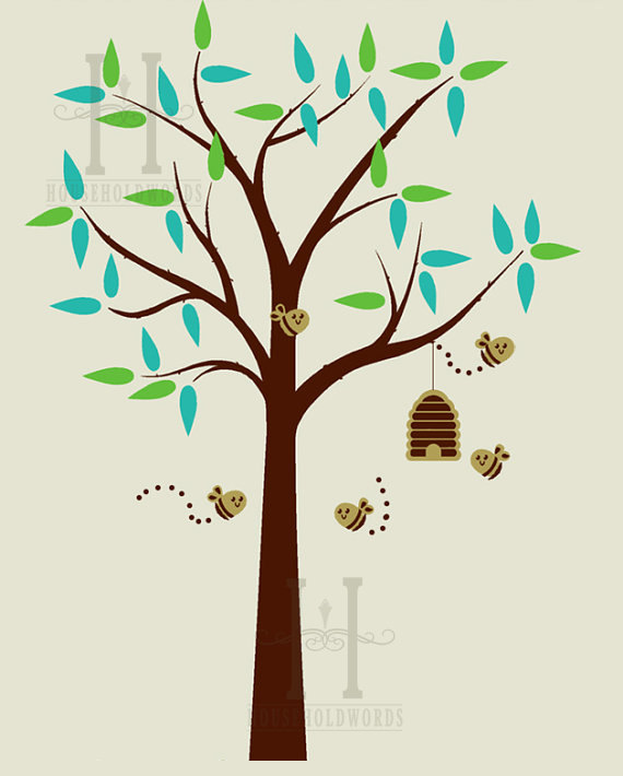 Bee Hive clipart tree drawing Bee Hive Vvisitingmexico Images: Source: