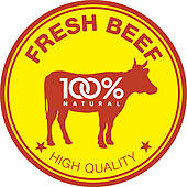 Beef clipart Clip stickers Meat Beef beef
