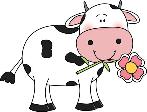 Mommy clipart baby cow A Cow vacas images Flower