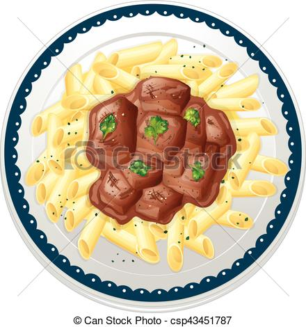 Stew clipart plate #9