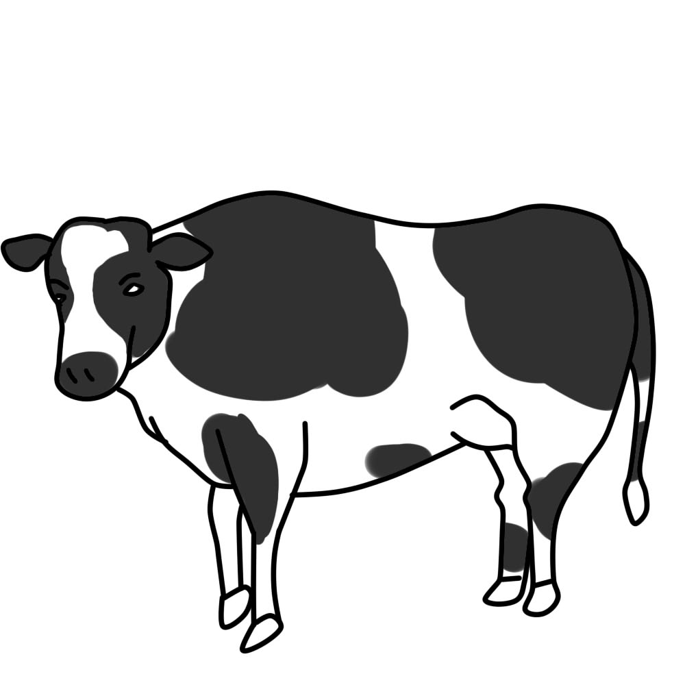 Beef clipart black and white Clipart Clipart Clip And Black