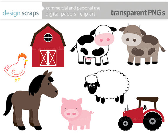 Amd clipart farm animal By designscraps art graphics by