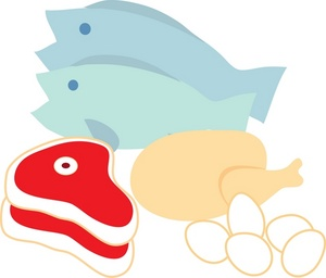 Seafood clipart invertebrate Eggs Clipart and Meat and