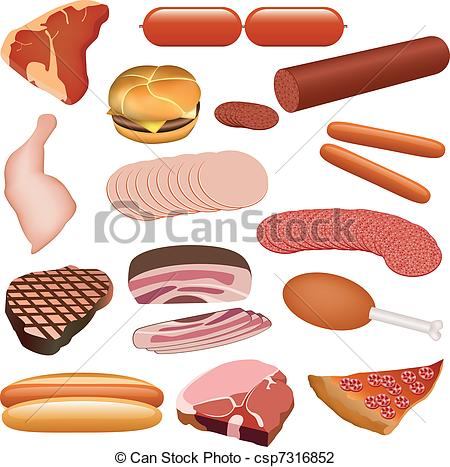 Salami clipart sliced And alternatives clip Meat for