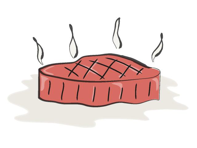 Beef clipart meat food Clipart meat kid Steak 3