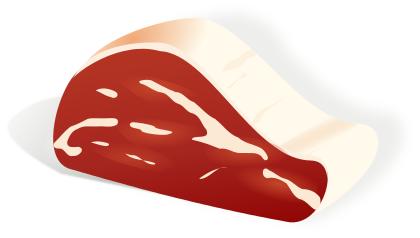 Steak clipart piece meat 1 Free Art Clip Public