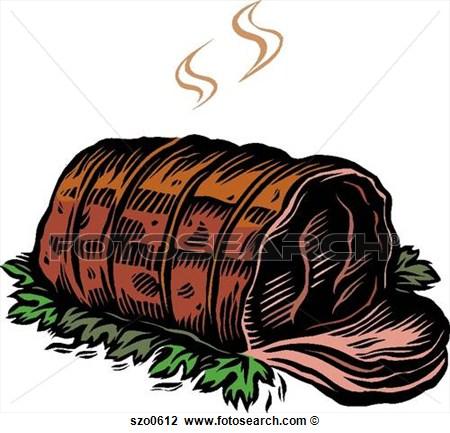 Roast clipart roast beef #1